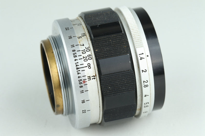 Canon 50mm F/1.4 Lens for Leica L39 #23847F4