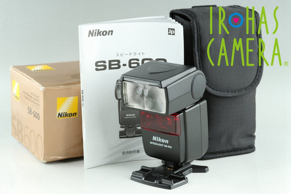 Nikon SB-600 Speedlight With Box #23852F2