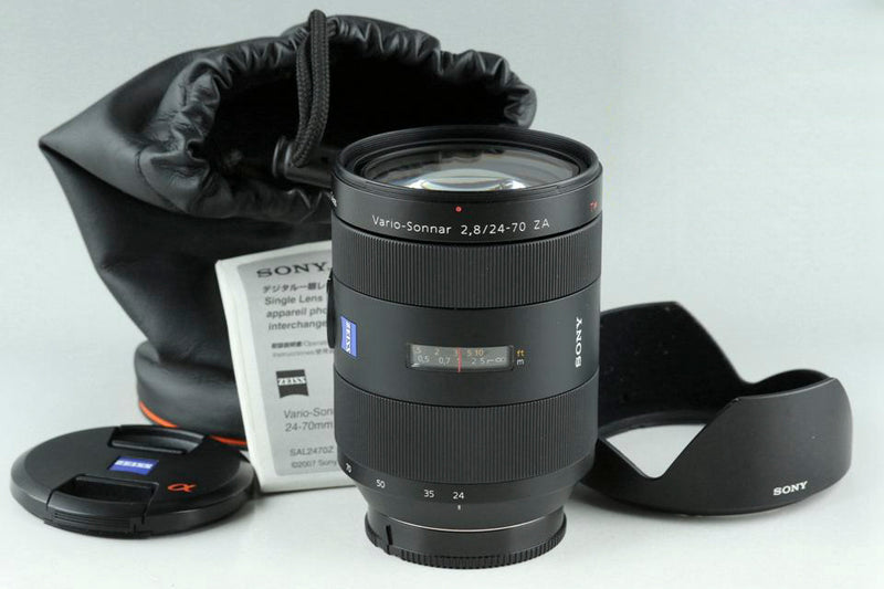Sony Carl Zeiss Vario-Zonnar T* 24-70mm F/2.8 ZA SSM Lens for Sony AF #23871F6