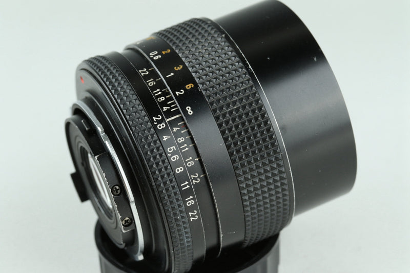 Contax Carl Zeiss Distagon T* 25mm F/2.8 AEG Lens for CY Mount #23927A2