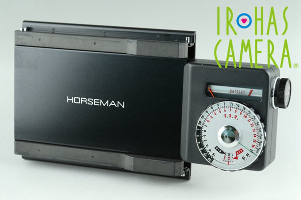Horseman Exposure Meter 69 + 4x5 Adapter #23962F3