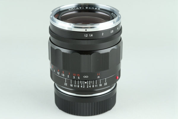 Voigtlander Nokton 35mm F/1.2 Aspherical Lens for Leica M With Box #23978