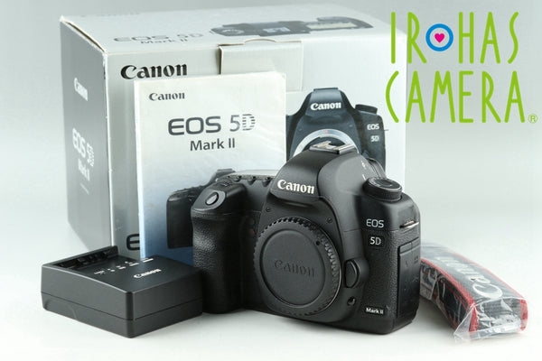 Canon EOS 5D Mark II Digital SLR Camera With Box *Shutter Count 57182* #24013