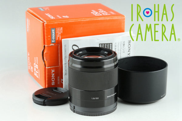 Sony E 50mm F/1.8 OSS Lens for Sony E With Box #24017