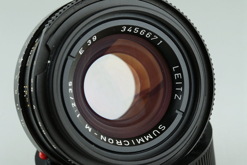 Leica Leitz Summicron-M 35mm F/2 7-Elements E39 Lens for Leica M #24082C1