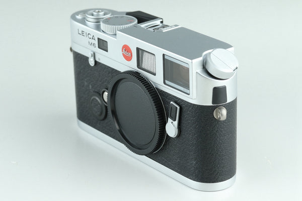 Leica M6 TTL 0.72 35mm Rangefinder Film Camera In Silver With Box #24118
