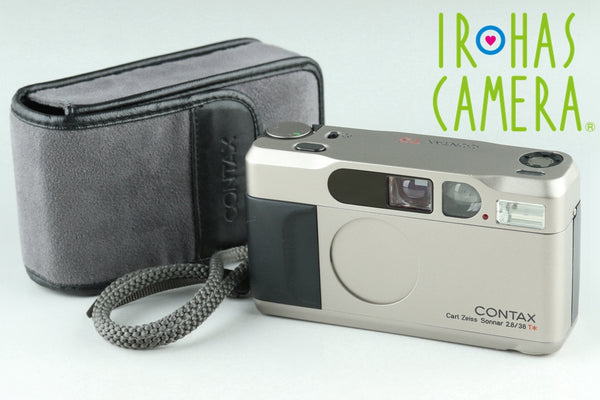 Contax T2 35mm Point & Shoot Film Camera #24159D1