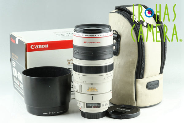 Canon EF 100-400mm F/4.5-5.6 L IS USM Lens With Box #24243