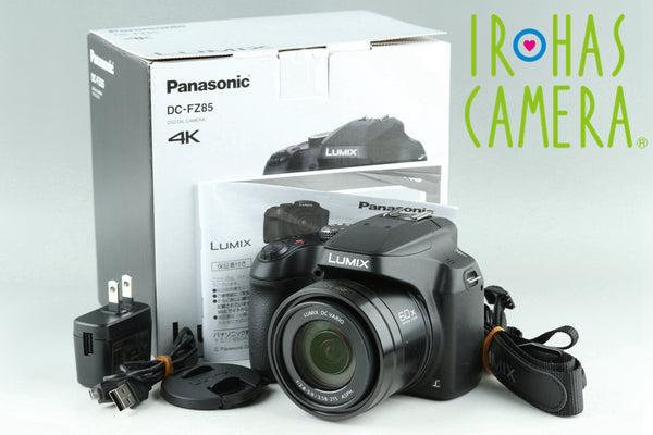 Panasonic Lumix DC-FZ85 Digital Camera With Box #24302