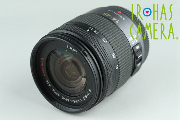 Panasonic Lumix G Vario 14-45mm F/3.5-5.6 ASPH. Lens for M4/3 #24320F4