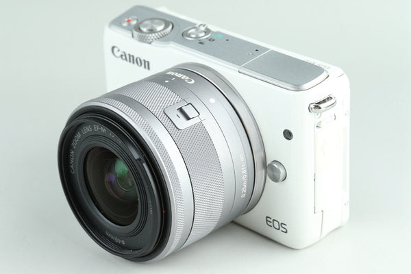 Canon EOS M10 Digital Camera + 15-45mm + 55-200mm #24340