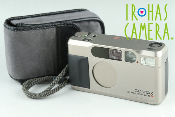 Contax T2 35mm Point & Shoot Film Camera #24357D2