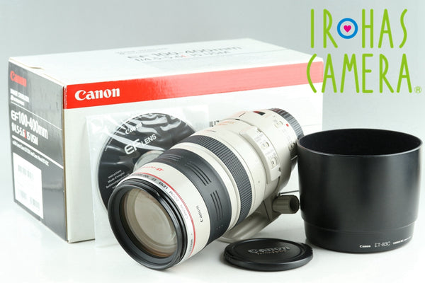 Canon EF 100-400mm F/4.5-5.6 L IS USM Lens With Box #24369