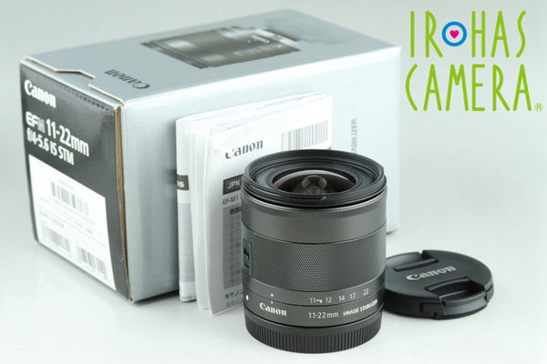 Canon EF-M 11-22mm F/4-5.6 IS STM Lens With Box #24386F1