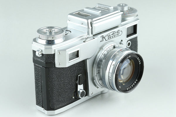 Kiev 4 35mm Rangefinder Film Camera + Jupiter-8M 50mm F/2 Lens #24462D2