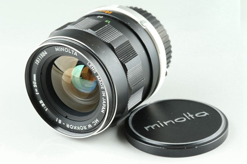 Minolta MC W.Rokkor-SI 28mm F/2.5 Lens for MD Mount #24515G2