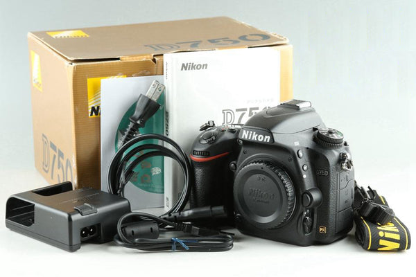 Nikon D750 Digital SLR Camera With Box *Shutter Count 2056* #24679