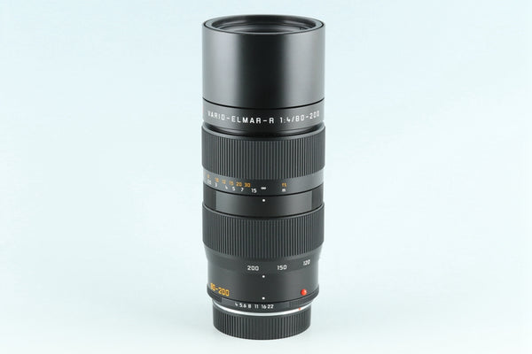 Leica Vario-Elmar-R 80-200mm F/4 E60 ROM Lens *CLA'd by a specialized shop* #24766F5