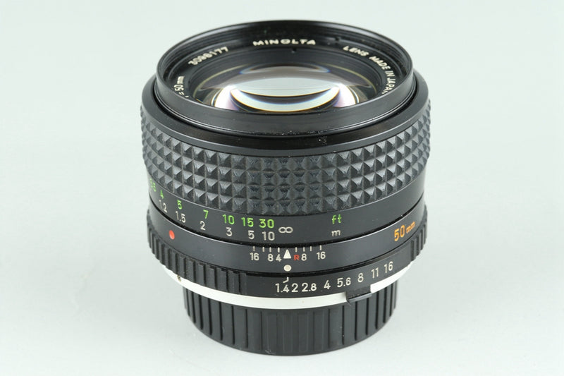 Minolta MC Rokkor-PG 50mm F/1.4 Lens for Minolta MD #24775F5