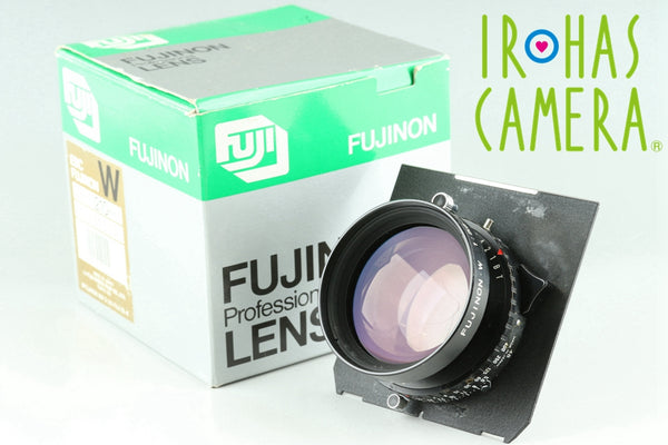 Fujiflim Fujinon W 210mm F/5.6 Lens With Box #24839