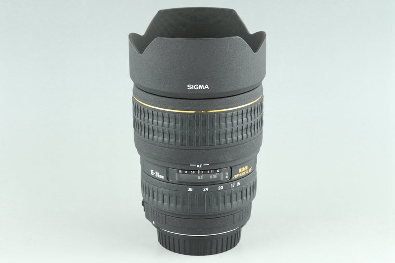 Sigma EX 15-30mm F/3.5-4.5 DG Lens for Canon #24878F6