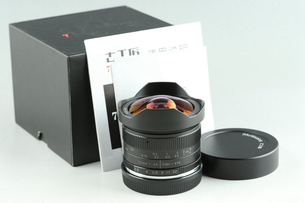 7Artisans 7.5mm F/2.8 Fish-eye Lens for E Mount With Box #24895