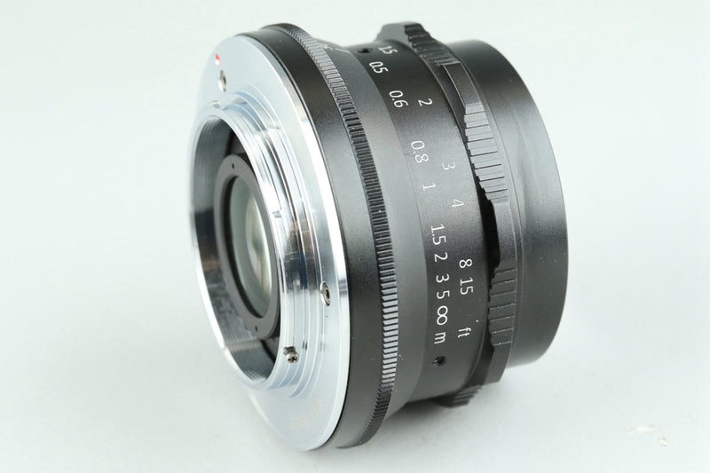 7Artisans 35mm F/1.2 Lens for M4/3 Mount With Box #24901