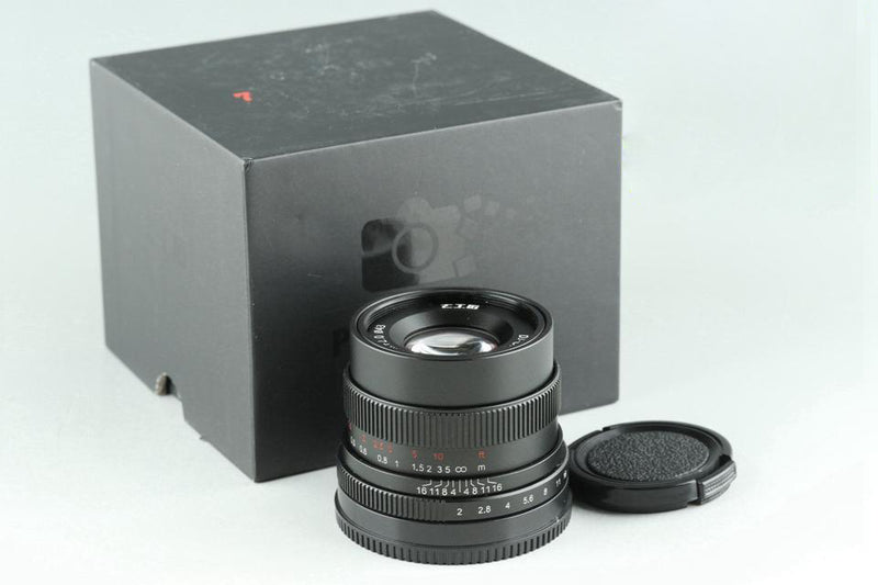 七工匠 7Artisans DJ-Optical 35mm F/2 Lens for Sony E With Box #24903