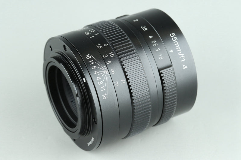 七工匠 7Artisans 55mm F/1.4 Lens for M4/3 With Box #24905