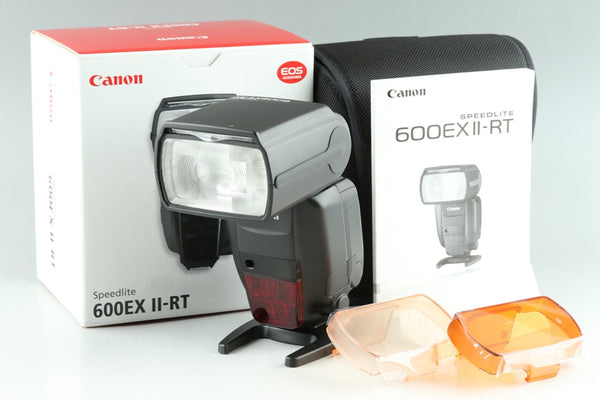 Canon Speedlite 600EX II-RT Shoe Mount Flash With Box #24926G21