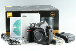 Nikon D750 Digital SLR Camera With Box *Shutter Count 112456* #24929