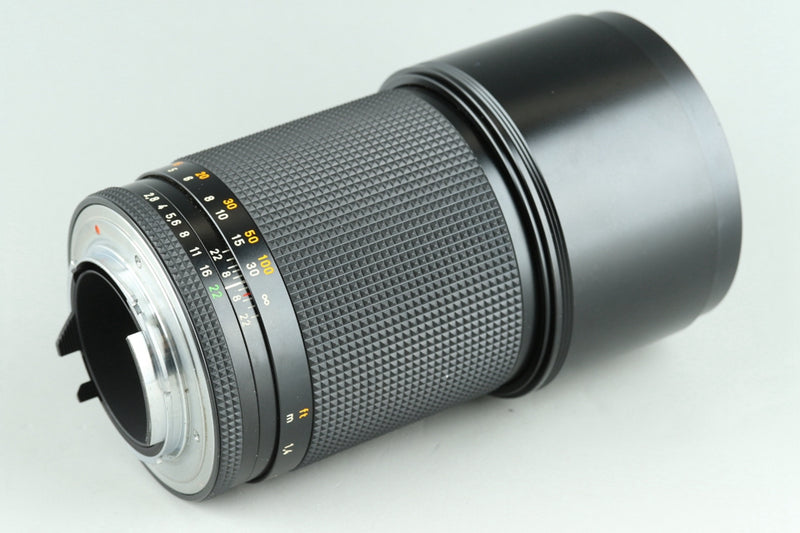 Contax Carl Zeiss Sonnar T* 180mm F/2.8 MMJ Lens for CY Mount #25141A3