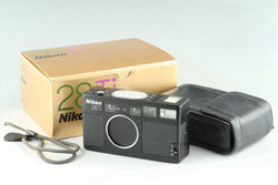 Nikon 28Ti 35mm Point & Shoot Film Camera With Box #25296