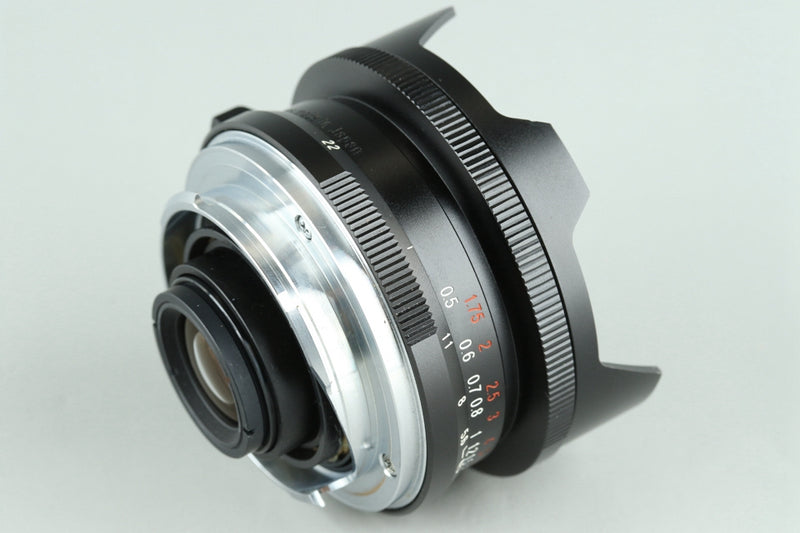 Voigtlander Super Wide-Heliar 15mm F/4.5 Aspherical Lens for Leica M With Box #25343