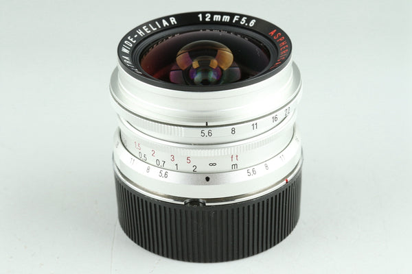 Voigtlander Ultra Wide-Heliar 12mm F/5.6 Aspherical for Leica L39 + M Adapter #25347G3