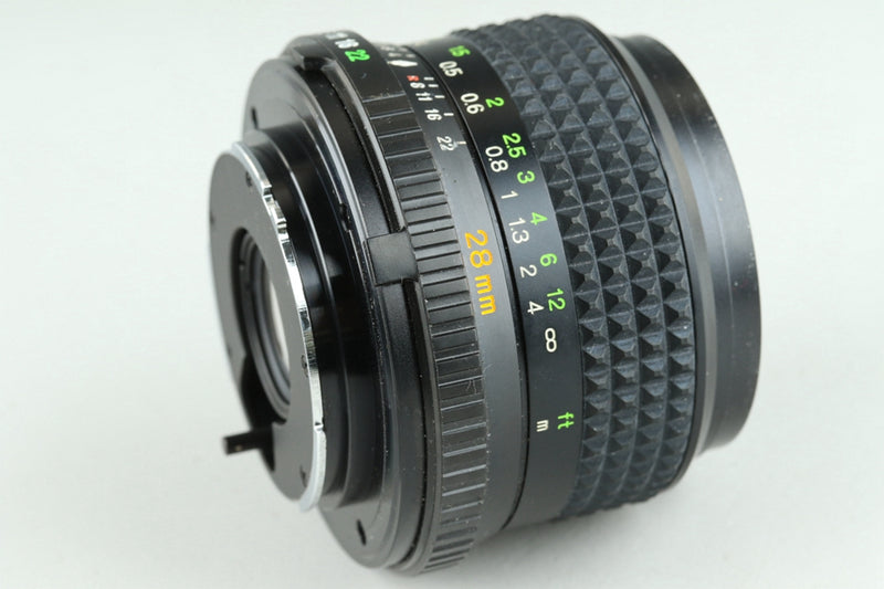 Minolta MD W.Rokkor 28mm F/2.8 Lens for MD Mount #25366F4
