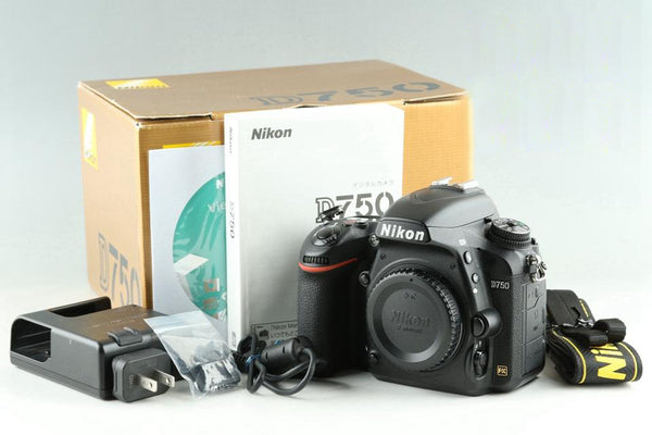 Nikon D750 Digital SLR Camera With Box *Shutter Count 87523*#25414