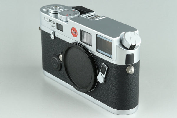 Leica M6 TTL 0.72 35mm Rangefinder Film Camera In Silver With Box #25459
