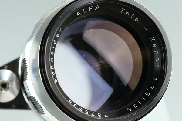 Schneider Alpa Tele Xenar 135mm F/3.5 Lens for Alpa #25464F4