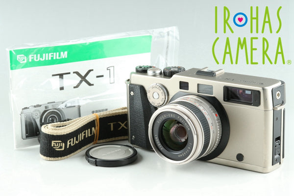 Fujifilm TX-1 35mm Rangefinder Film Camera + 45mm F/4 Lens *Shutter Count 0243*#25478E5