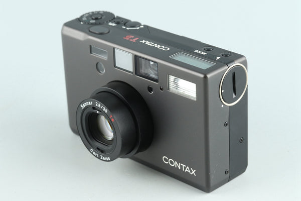 Contax T3 35mm Point & Shoot Film Camera *Double Teeth* #25508D1