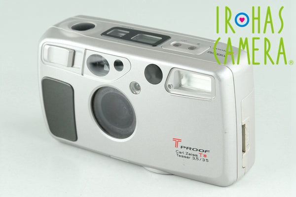 Kyocera T Proof 35mm Point & Shoot Film Camera #25522D3