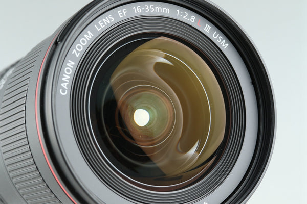 Canon EF 16-35mm F/2.8 L III USM Lens With Box #25525