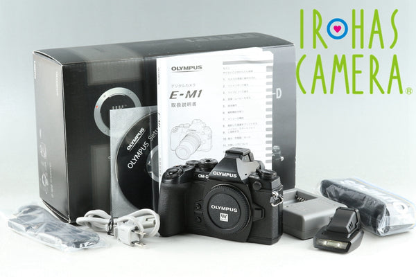 Olympus OM-D E-M1 Digital SLR Camera With Box *Shutter Count 494* #25530