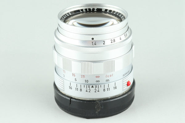 Leica Leitz Summilux 50mm F/1.4 Lens for Leica M #25537H2
