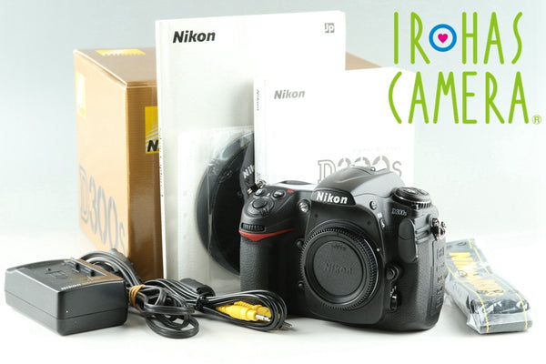 Nikon D300s Digital SLR Camera With Box *Shutter Count 3961*#25550