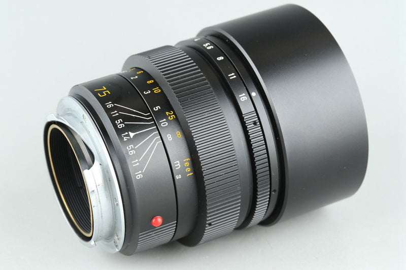 Leica Leitz Summilux-M 75mm F/1.4 Lens for Leica M #25604H1