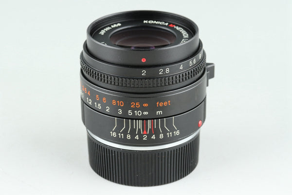 Konica M-Hexanon 35mm F/2 Lens for Leica M #25608G2