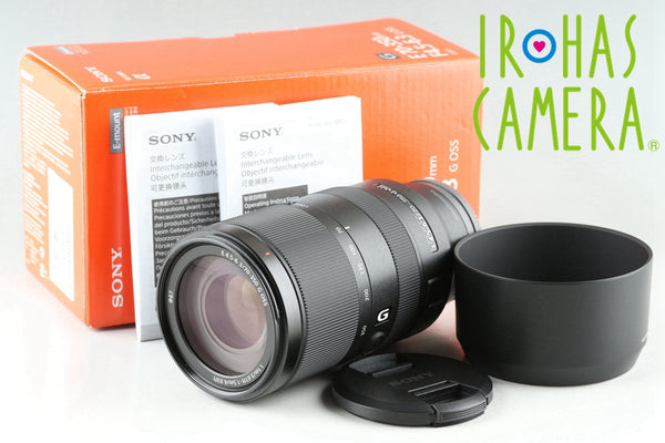 Sony E 70-350mm F/4.5-6.3 G OSS Lens for Sony E With Box #25613