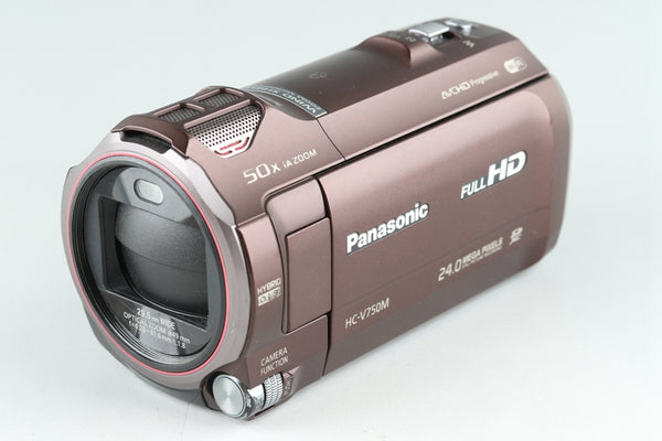 Panasonic HC-V750M Digital Video Camera With Box #25617